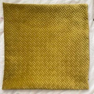 Gold Velvet PILLOWCASE ONLY for throw pillow